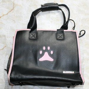 SMALL TREASURES PVC Leather Small Pet Carrier